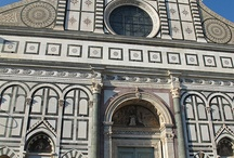 Santa Maria Churches in Florence / The Blessed Virgin Mary is honored all over Florence--The Duomo was dedicated on her Annunciation and the Florentine New Year was traditionally celebrated on that day: March 25, 9 months pre Christmas