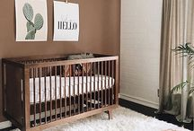"Baby ""Foresty"" Themed Nusery Inspiration"