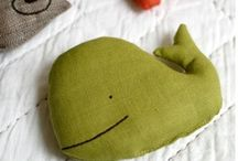 Whale pillow