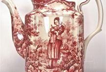 red porcelain