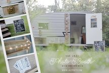 The Jazi Photo Booth | Our vintage trailer camper / Hope is our 1961 vintage trailer photobooth! We are available for weddings, events, and festivals. Located in Chicago,IL but travel nationally.