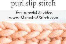 Crochet purl