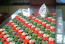 tapete de flores de yoyo