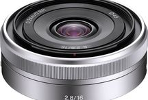 Sony Photo Lenses / Pin the lenses you have... or the ones you want!