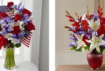 Red, White & Blue / Patriotic Arrangements