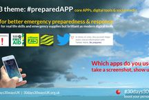 #preparedAPP / Smartphone APPs put useful information at your fingertips in an emergency. Explore these FREE UK RESOURCES for better personal preparedness. Be prepared, not scared. Find out more about #30days30waysUK by visiting the website at http://30days30waysUK.org.UK