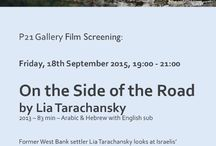 Film Screening: On the Side of the Road by Lia Tarachansky / P21 Gallery invites you to: Film Screening followed by Q&A On the Side of the Road by Lia Tarachansky Friday, 18th September 2015, 19:00 - 21:00