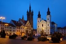 Česká města / Czech towns and cities