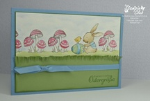 Spring / Easter - Cards & craft ideas / Card and craft ideas, most with Stampin' Up!