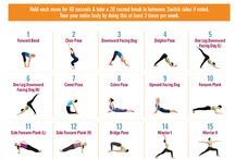 Yoga workout full body