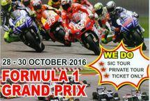 TOUR PACKAGE / MotoGP Malaysia 28 - 30 October 2016