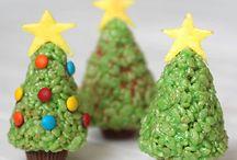 Christmas kiddo baking