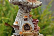 Collectible Fairy Garden Miniatures / Collectible Quality Miniatures from Top Collection