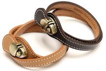leather belts & bracelets  / by enas sedrak