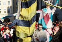 Carnevale Praha / Divertimento Furioso / Venkovní oslavy průvody / The Carnival Street Parades
