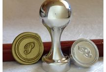 Initial Wax Seal Stamps
