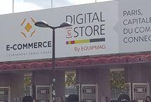 Salon du E-commerce Paris 2015 / Toutes les photos prises sur le salon du E-commerce à Paris pendant notre visite !