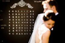 Creative Chalkboard for weddings