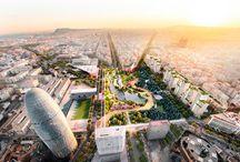 Resultados del Concurso Espacio Libre de la Plaza de las Glòries de Barcelona / Resultados del Concurso restringido de proyectos para el proyecto urbano del espacio libre de la plaza de las Glorias Catalanas de la ciudad de Barcelona.