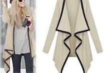 Cardigans / A simpler version of trench coat
