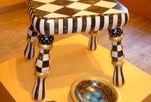 tabure sandalye sehpa