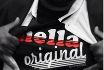 Hella Original Fellas / Pictures of people rocking their Hella Original gear.  www.HellaOriginal.com  / by Domonic Bearfield