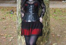 "ebony way / A very specific type of dress called ""ebony dark'ness dementia raven way would definitely wear this"""