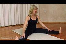 yoga/ stretches