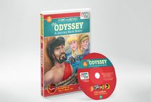 The Odyssey / King Ulysses has just won the Trojan War. All he wants now is get back to his wife Penelope and their young son. But his journey home becomes a long and dangerous adventure. Ulysses will have to test his courage and ingenuity to the limit if he's going to see his family ever again! Meanwhile, Penelope and her son use their own wits and loyalty to keep evil Antinous from taking over as king and stealing all that is dear to their family.
