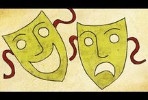 teaching- MYSTERY, MIRACLE, MORALITY theatre history