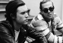 the Neighbourhood mainly Zach Abels and Jesse Rutherford
