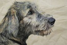 Wolfies. Irish Wolfhounds / by Dawn Ryker