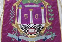 Masonic Banners / Examples of banners made by Heather Everitt Embroidery www.masonicbanners.co.uk