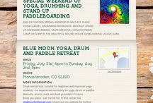 drumming and yoga