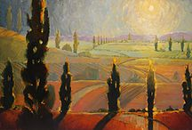 Landscape Paintings / Original oil paintings by Robert Lewis