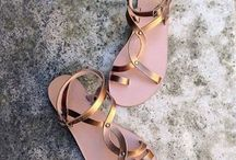 Most Chic Sandals SS/2014 / Handcrafted in Greece, 100% leather .