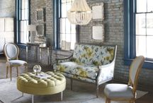 Currey & Company / Best known for lighting products such as chandeliers, wall sconces, table and floor lamps, they also carry beautiful interior furniture, garden furniture and accessories. A distinctive home furnishings brand that you will surely love. / by Bellacor.com