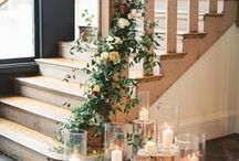 wedding decorations at home. / Wedding decorations at your home