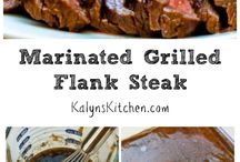marinades and meat