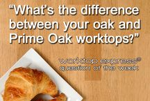 Oak Worktops / An enduringly popular worktop with plenty of classic charm. Oak worktops will mature and darken gradually, deepening to perfection over time.