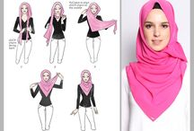 Hijab / Tutorial and style