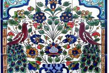 Tiles, Textiles, Ceramics, Mosaics, Murals