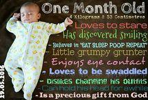 baby milestone pictures
