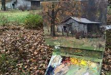 Oil nature paint