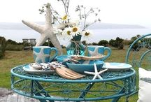 Seaglass-Shells-Starfish Decor / by Heather Riehle