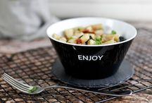 Rezepte für Salate / Salate zum Grillen als Beilage oder im Glas.
