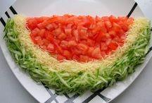 salata ve yemek / by necmiye alışverişci