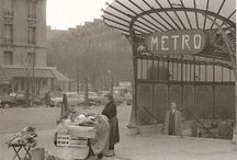 Vintage Pictures of/in Paris