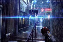 sci-fi, cyberpunk, fantasy