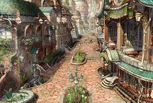 fantasy festmény